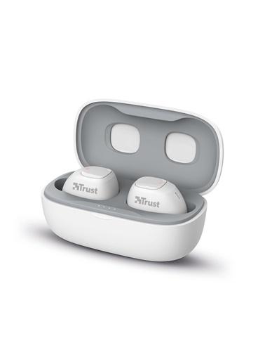 Trust Trust Nika Compact Beyaz Bluetooth Kulak ıçi Kulaklık Powerbank Hediyeli Renkli